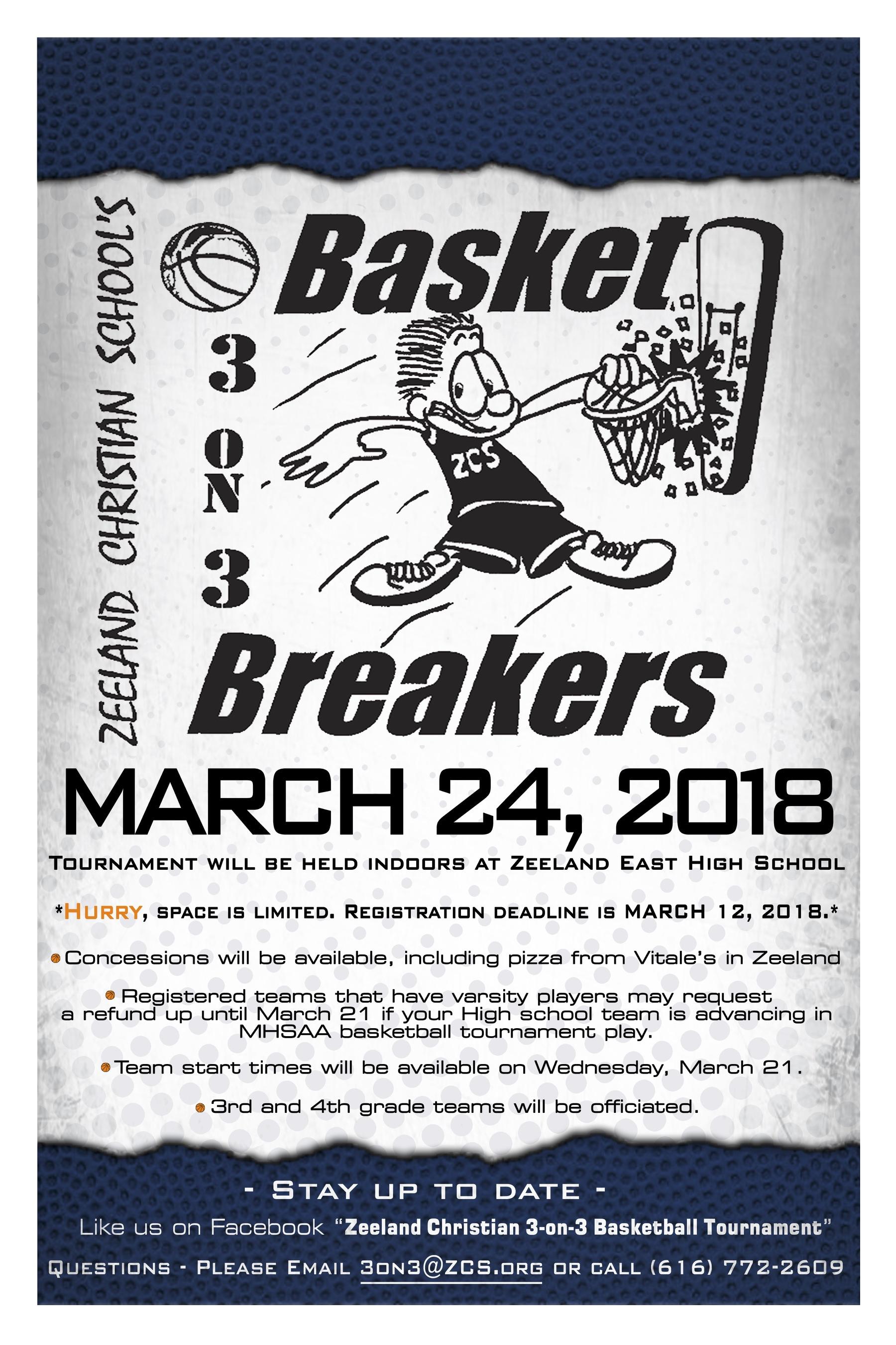 3 On Basket Breakers
